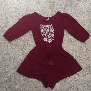 Abercrombie & Fitch off the shoulder Romper